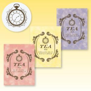 デザイン制作事例-「Venus Luce様」ショップロゴ&紅茶ラベルデザイン
